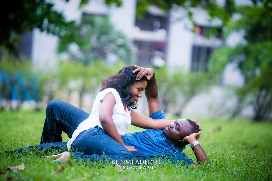 Ibukun Emmanuel Pre Wedding Shoot National Theatre Lagos Nigeria Photographer Bunmi Adedipe Photography
