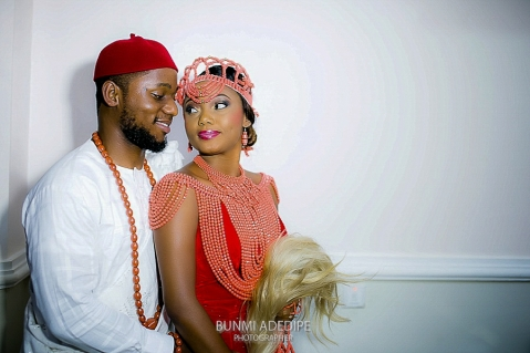 WENDY AND JOHN | TRADITIONAL WEDDING PHOTOGRAPHY | LEKKI, LAGOS - NIGERIA - 106